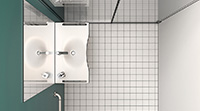Salles de bain serie Standard