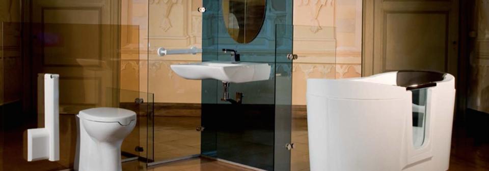 Goman salles de bain pour handicapees